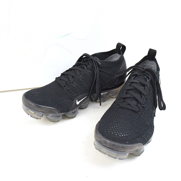factory authentic 7de09 0d209 NIKE Nike AIR VAPORMAX FLYKNIT 2 942,842-001 sneakers men black 26cm