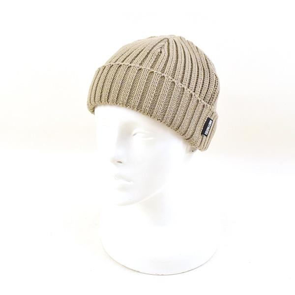a8a04e3d2 WACKO MARIA Wako Maria cotton knit watch cap knit hat men beige