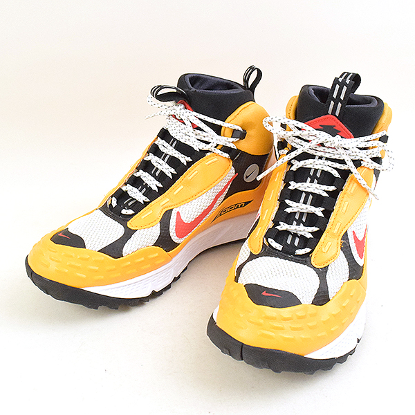 NIKE Nike NIKELAB AIR ZOOM SERTIG '16 Nike laboratory air zoom cell tyg 16 sneakers men yellow 26.5cm