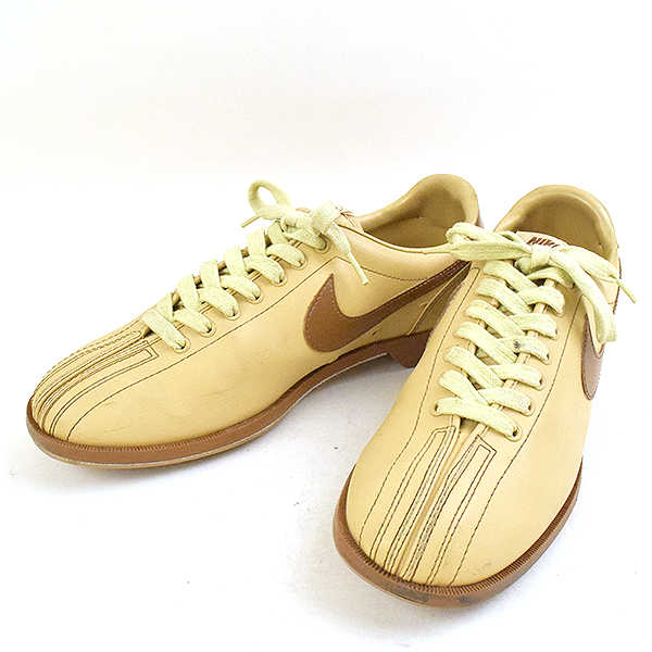 pretty nice 100% genuine save up to 80% NIKE Nike 80's bowling shoes men beige 28.5cm