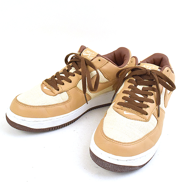 newest a4036 b91c2 NIKE Nike AIR FORCE 1 ACORN sneakers men beige 29cm