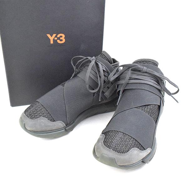 ac27117dfbe5c MODESCAPE Rakuten Ichiba Shop  Y-3 Weiss Lee QASA HIGH sneakers CG3194 men  olive 24.5cm
