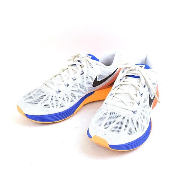 cheaper f6dc5 4bc59 NIKE Nike LUNARGLIDE 6 running sneakers men white 25cm ...