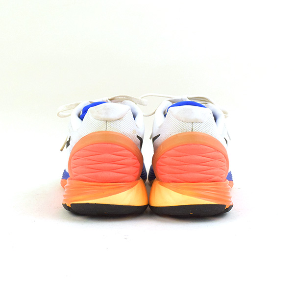 more photos 63ebe cfd6a NIKE Nike LUNARGLIDE 6 running sneakers men white 25cm