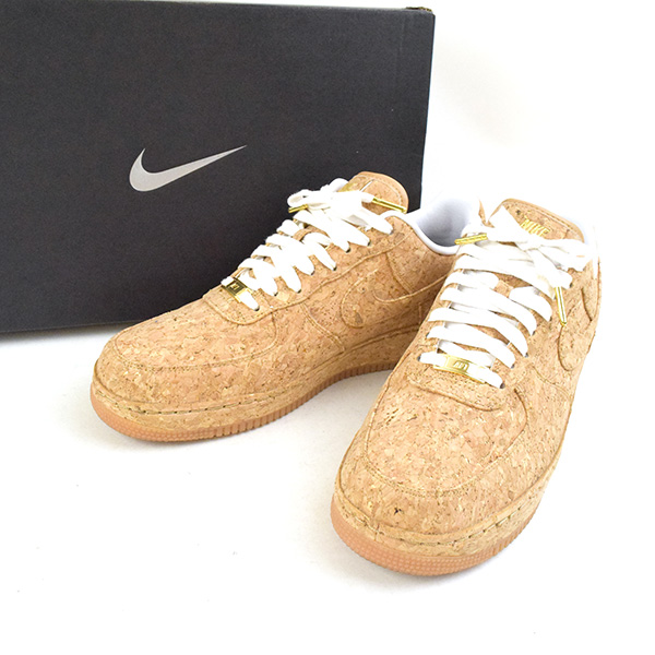 finest selection 23b9c 3130b NIKEiD Nike eye D AIR FORCE 1 LOW CORK COLLECTION sneakers men beige 27.5cm