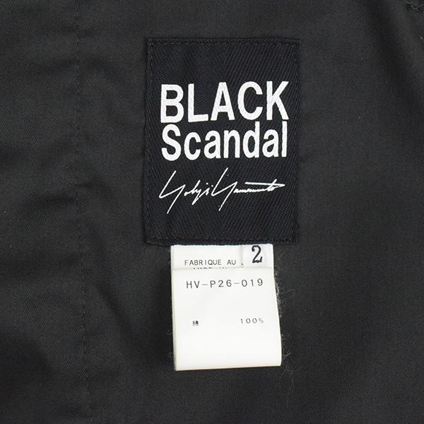 BLACK Scandal Yohji Yamamoto ブラックスキャンダル ヨウジヤマモト 18AW Classic Balloon Pants コットンシーチングバルーンパンツ メンズ ブラック 2rdBWCoxe