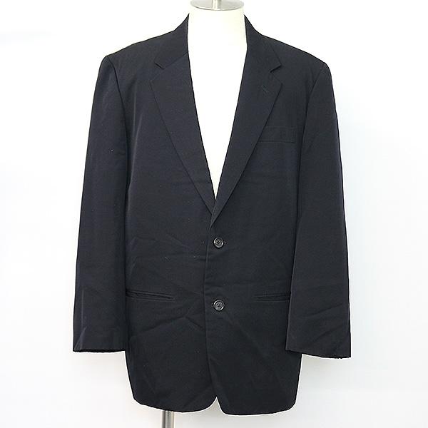 Y's for men ワイズフォーメン 80's ウールギャバジン2Bテーラードジャケット メンズ ブラック S:MODESCAPE 店
