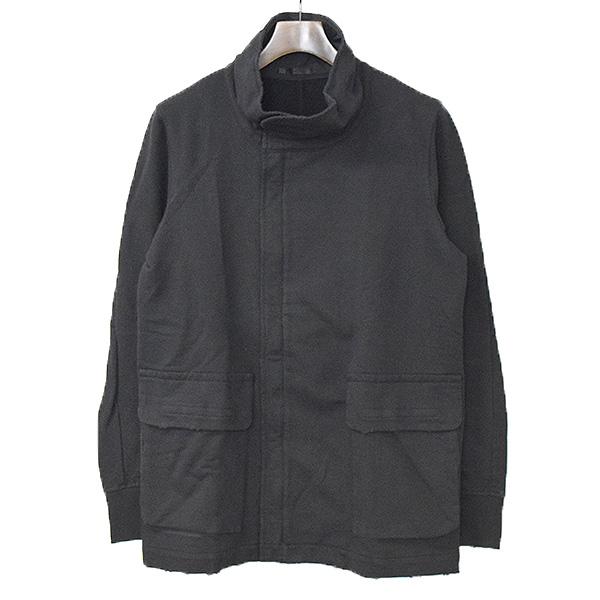 【中古】The viridi-anne ザ ヴィリディアン 17SS 製品染めドラインインレイハイネックジャケット メンズ ブラック 2