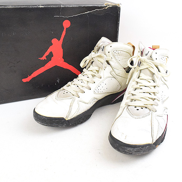huge discount 78320 d6c21 AIR JORDAN 7 OG sneakers men white 28.5cm made in NIKE Nike 92