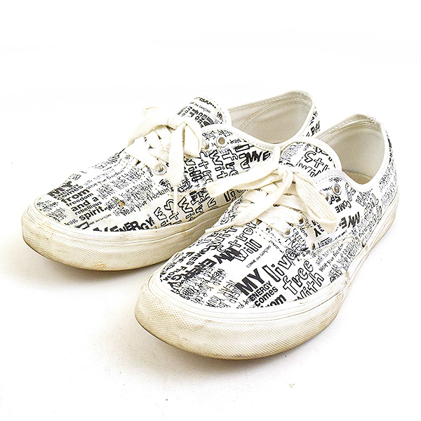 c4856394fc COMME des GARCONS コムデギャルソン X VANS vans Authentic LX CDG sneakers men white  28cm