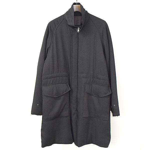 【中古】ALLEGE アレッジ 17AW スタンドカラー中綿コート メンズ ブラック 3