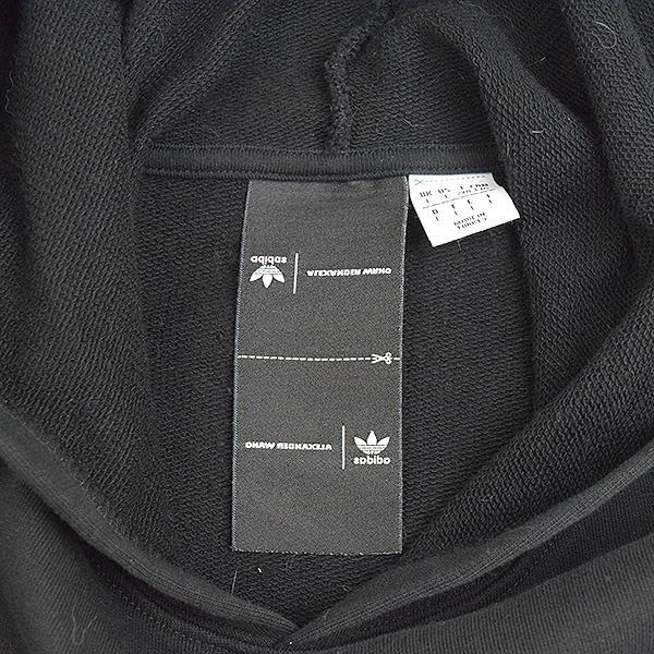 adidas Originals by Alexander Wang Adidas originals by Alexander one AW GRAPHIC HOOD pullover parka men black L