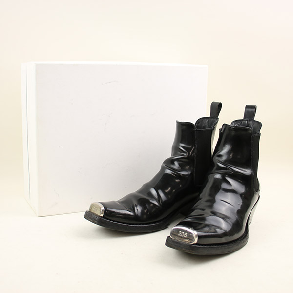 108d4471b99 Arrival at Calvin Klein 205W39NYC Calvin Klein 205W39N 17AW orchid way side  Gore Chelsea boot men black 41