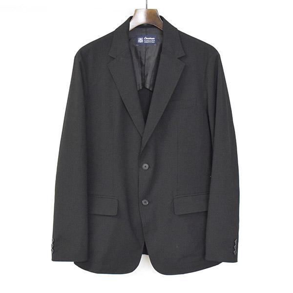 【中古】CARREMAN キャリーマン 2Bテーラードジャケット メンズ ブラック 未表記
