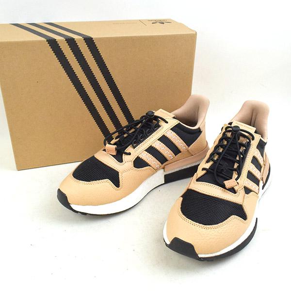 brand new 39496 a1a55 Hender Scheme ender schema X adidas Adidas 18AW HS ZX 500 RM MT sneakers  F36045 men beige 28cm