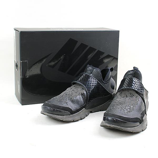 100% authentic 71e68 9d08a NIKE X STONE ISLAND Nike X Ai Stone land SOCK DART MID sneakers men black  27cm