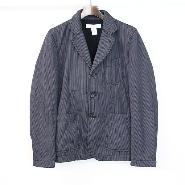 bb72374b214d COMME des GARCONS SHIRT コムデギャルソンシャツ 3B stripe tailored jacket men gray S