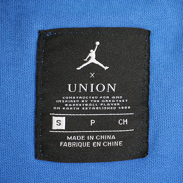 1f0cc7eb808 ... NIKE X UNION LOS ANGELES Nike X union Los Angeles AIR JORDAN logo print  T- ...