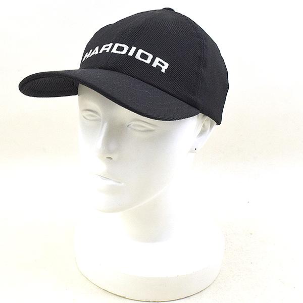 【中古】Dior HOMME ディオールオム 17AW HARDIOR刺繍キャップ メンズ ブラック M