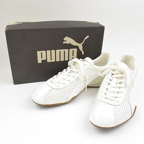 cheap for discount 21ea7 74717 PUMA Puma BARNETT Bis PATENT sneakers white 28.5cm men
