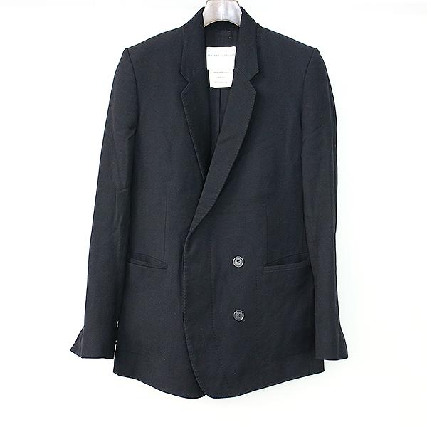 【中古】STEPHAN SCHNEIDER ステファンシュナイダー 比翼ダブルブレストジャケット ブラック 4 メンズ