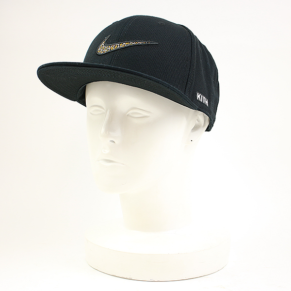 bd0a602b KITH NYC kiss New York X NIKE Nike Swoosh Snapback snapback cap hat black 1  men ...