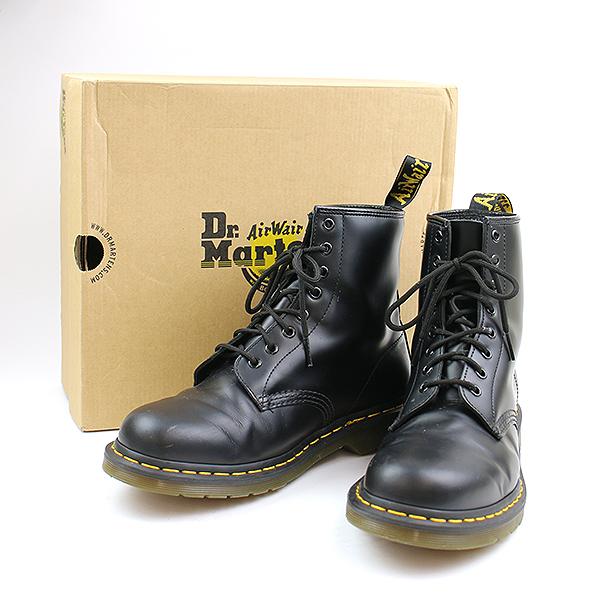 【中古】Dr.Martens ドクターマーチン 1460Z 8EYE BOOT 8ホールブーツ ブラック UK9(28程度) メンズ