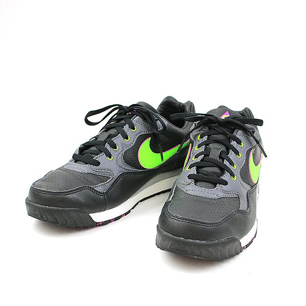 【中古】Nike ACG ナイキ エーシージー AIR WILD WOOD スニーカー A03116-002 ブラック×パープル×グリーン 26cm メンズ