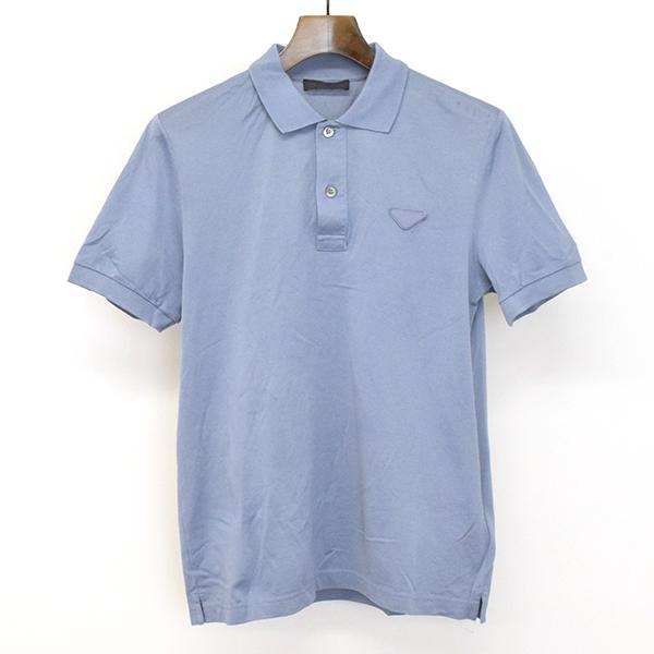 c5977093 MODESCAPE Rakuten Ichiba Shop: PRADA Prada V neck fawn polo shirt ...