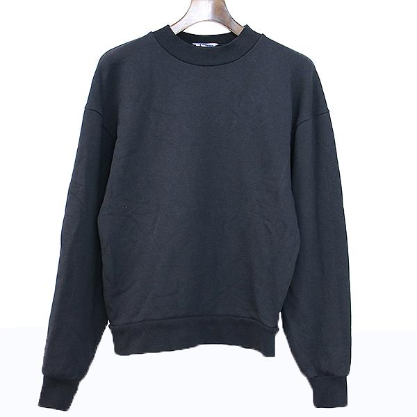 【中古】T by ALEXANDER WANG ティー バイ アレキサンダーワン 16SS モックネックスウェットシャツ ブラック XS メンズ