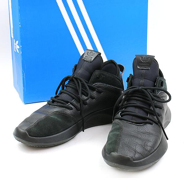 【中古】adidas アディダス CRAZY 1 ADV スニーカー ブラック 28 メンズ