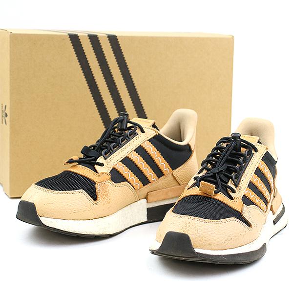 new arrivals 36062 7edaf Hender Scheme X adidas ender ski mer X Adidas 18AW HS ZX 500 RM MT sneakers  brown 26cm men