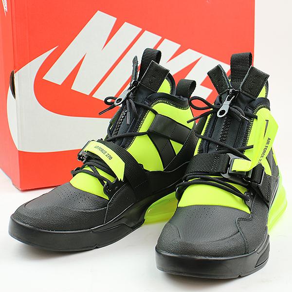 NIKE Nike AIR FORCE 270 UTILITY sneakers black 28.5cm men