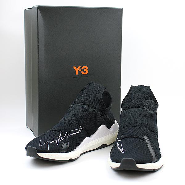 【中古】Y-3 ワイスリー REBERU スニーカー ブラック 27.5cm メンズ