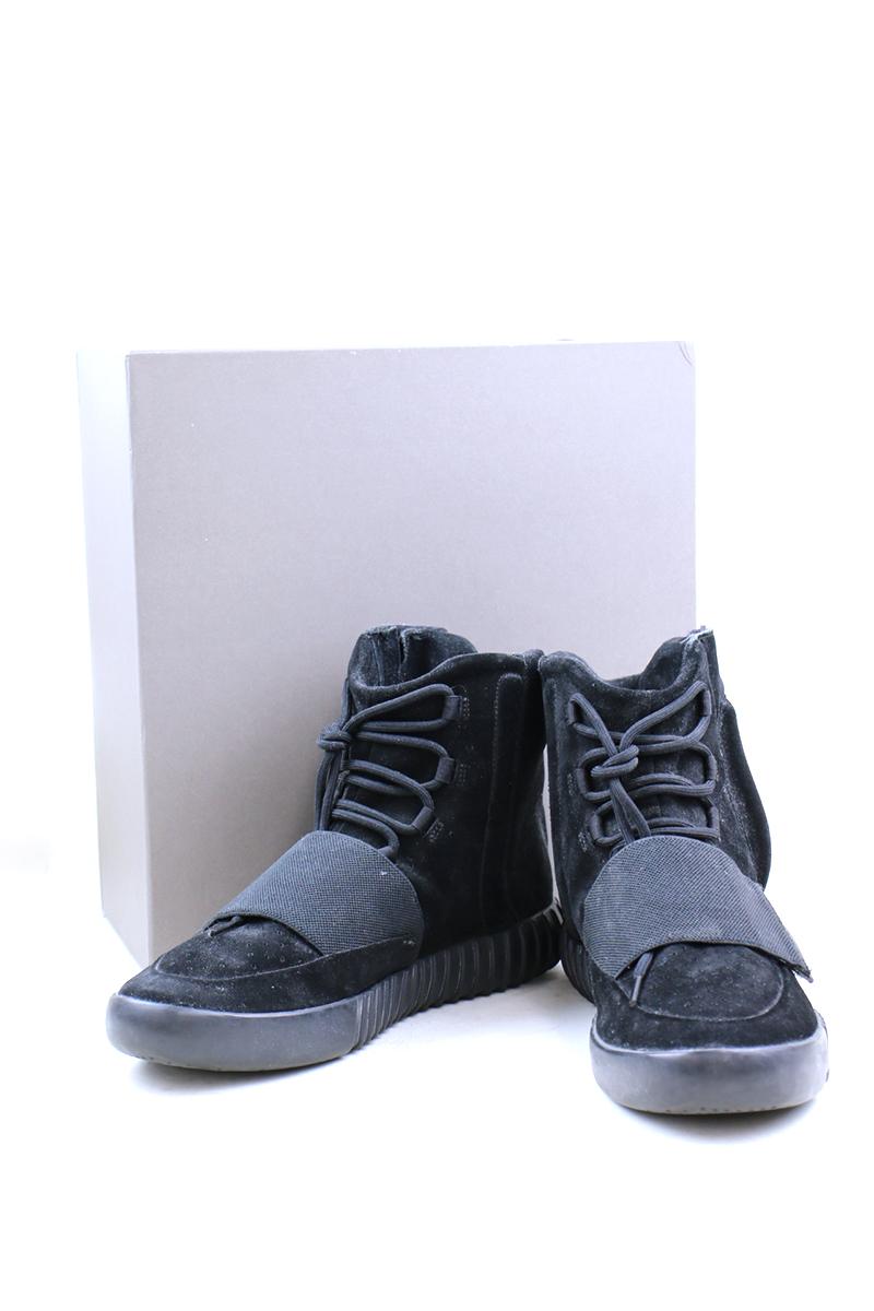 【中古】adidas アディダス YEEZY BOOST 750 TRIPLE BLACK イージーブースト スニーカー ブラック 29cm メンズ
