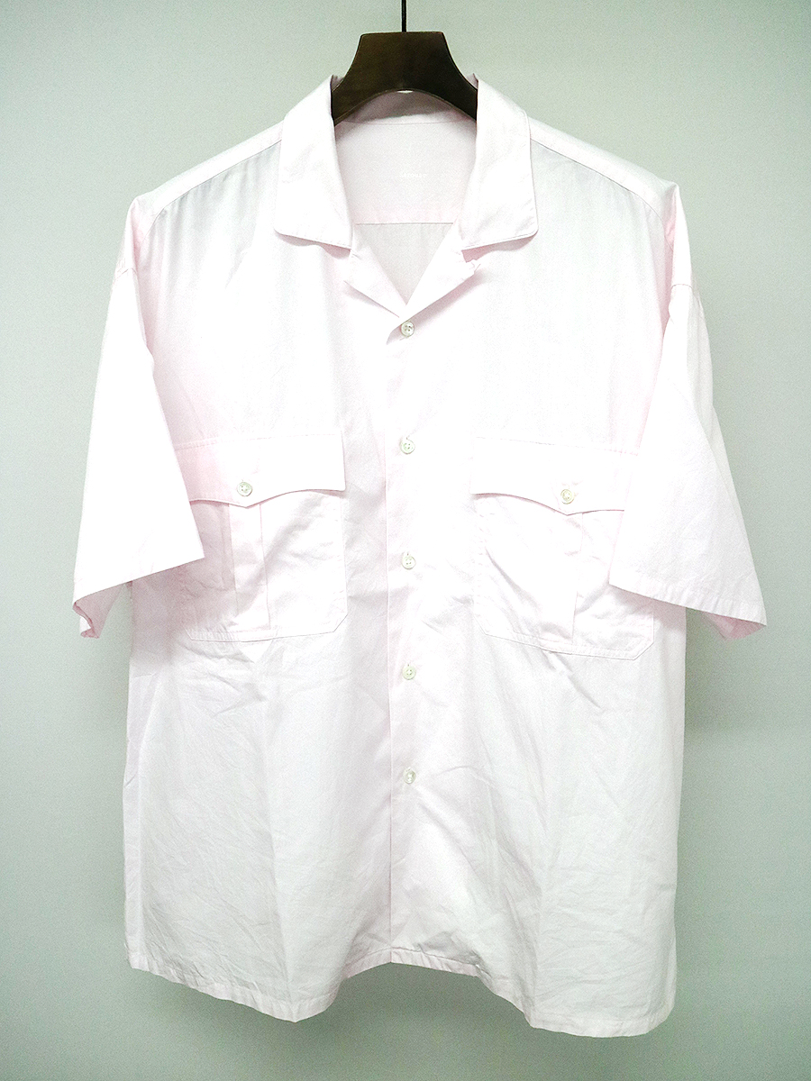 【中古】Porter Classic ポータークラシック 17SS KEROUAC SHIRT ケルアックシャツ ピンク XL メンズ
