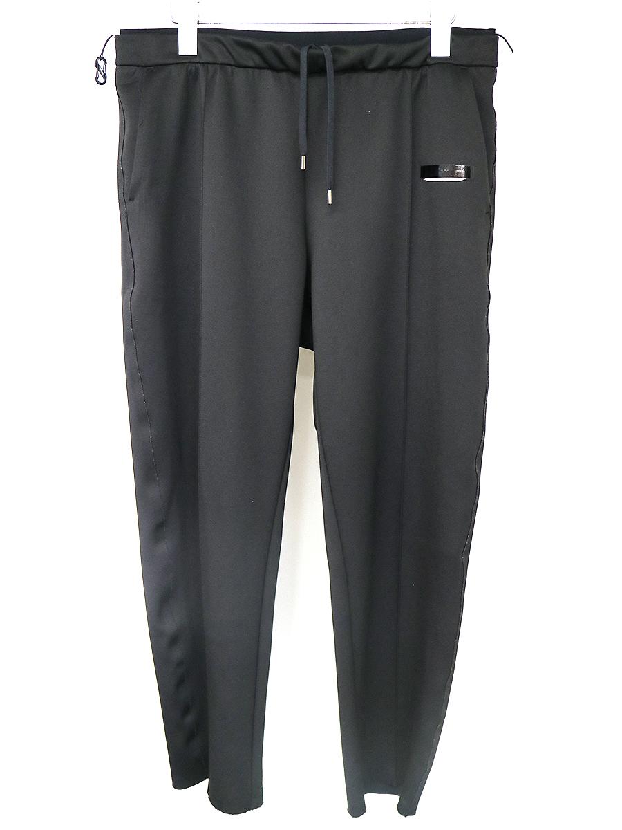【中古】satisfy サティスファイ ドローストリングポストランパンツ ブラック サイズ表記なし メンズ