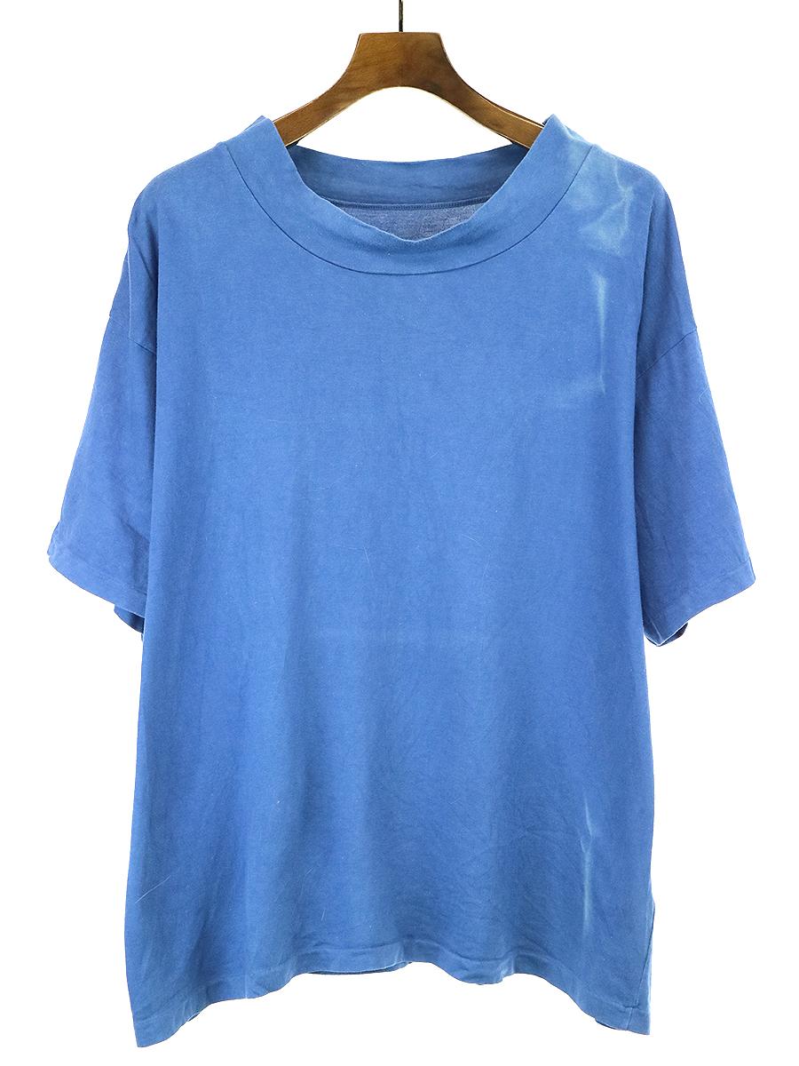 【中古】Porter Classic ポータークラシック HIGH NECK T-SHIRT ハイネックTシャツ ブルー 2 メンズ