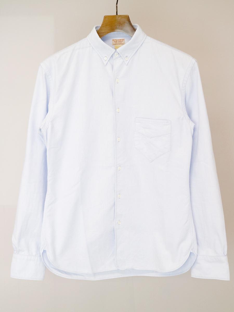 【中古】OLD JOE オールドジョー FANCY SHIRTS オックスフォードB.Dシャツ サックス 14 メンズ