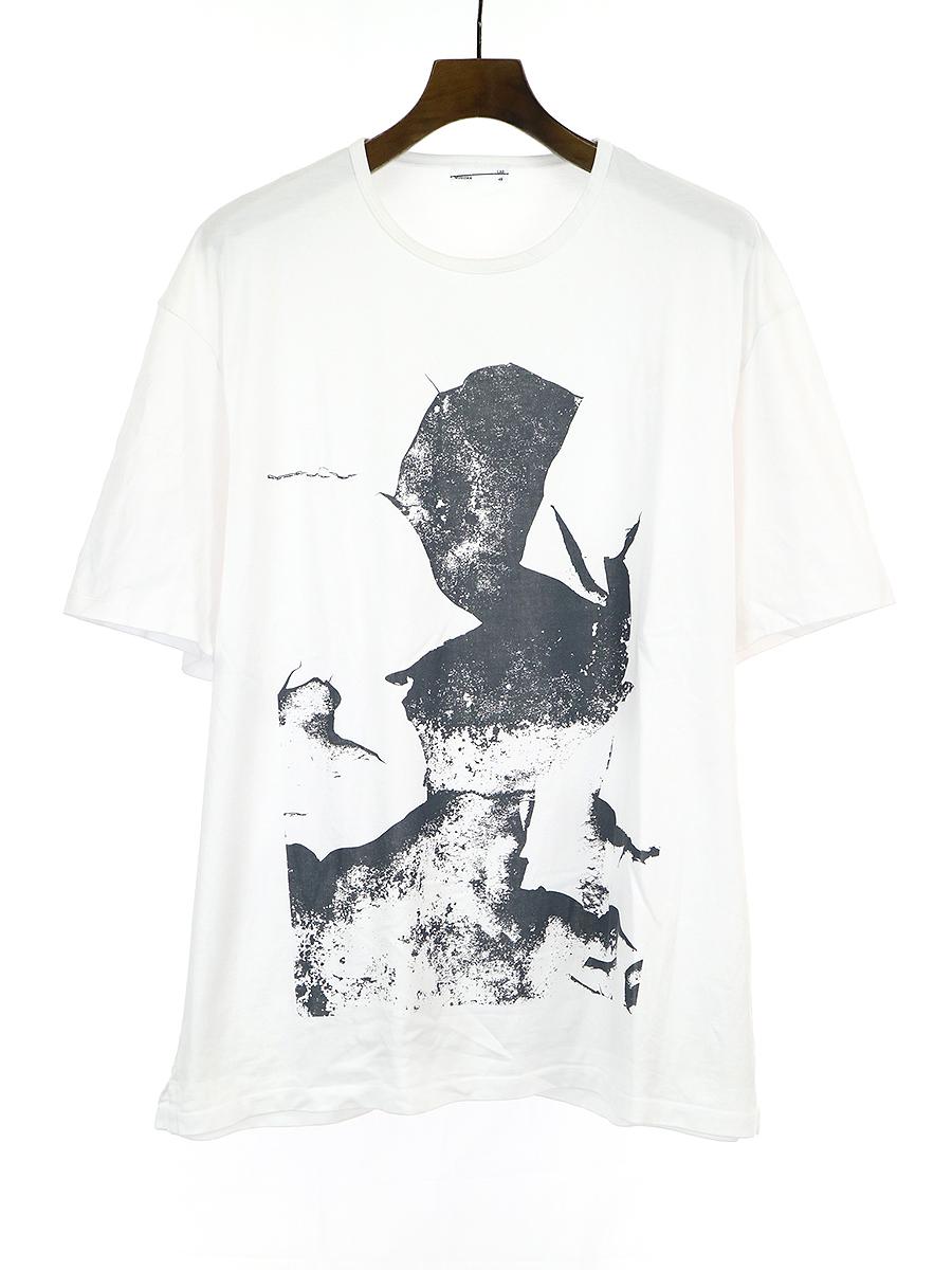 【中古】LAD MUSICIAN ラッドミュージシャン プリントTシャツ ホワイト 46 メンズ