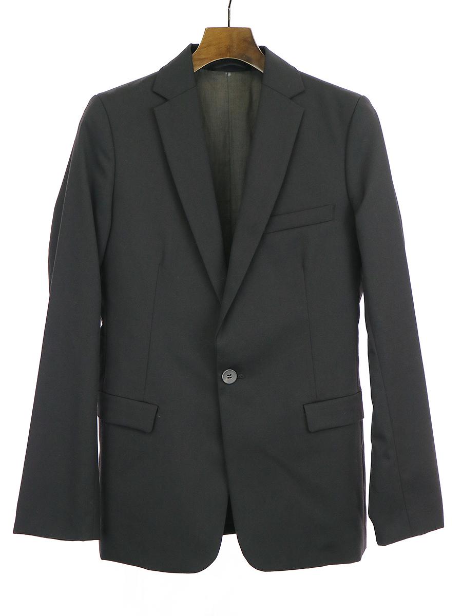 【中古】OURET オーレット ウールテーラードジャケット ブラック 1 メンズ
