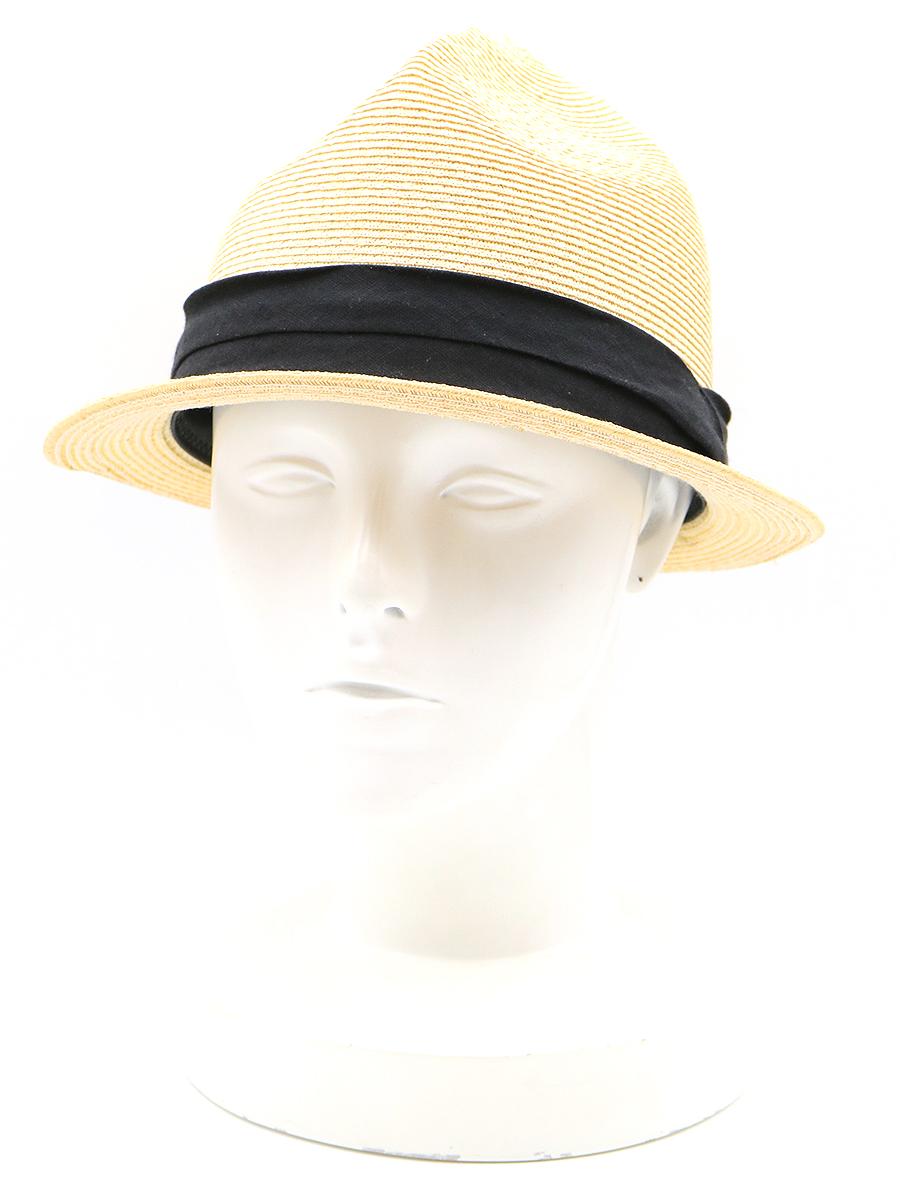 【中古】PHIGVEL フィグベル BLADE MOUNTAIN HAT マウンテンストローハット ベージュ 7 1/4 メンズ