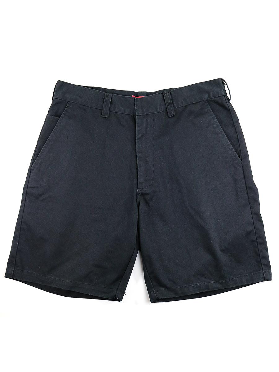 【中古】Supreme シュプリーム CHINO WORK SHORT PANTS チノショートパンツ ブラック 30 メンズ