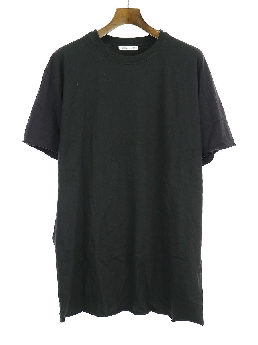 【中古】John Elliott ジョンエリオット Anti Expo Tee Tシャツ ブラック 3 メンズ