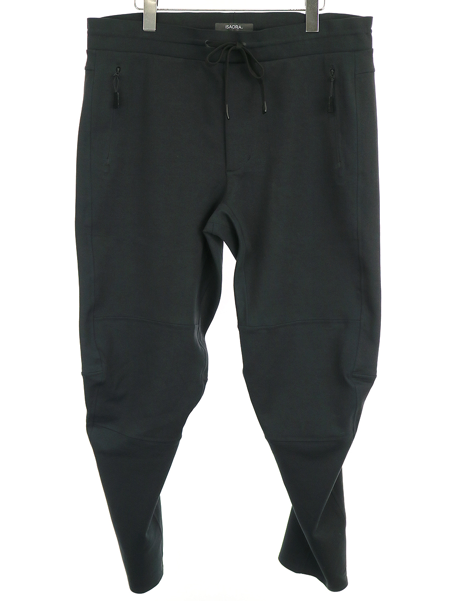 【中古】ISAORA イサオラ 19AW SCUBA PANT スキューバパンツ ブラック L メンズ