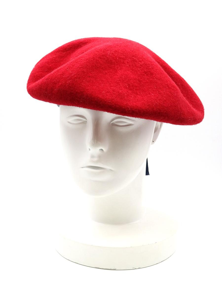 【中古】FACETASM×KIJIMA TAKAYUKI ファセッタズム×キジマタカユキ 18AW ベレー帽 レッド メンズ