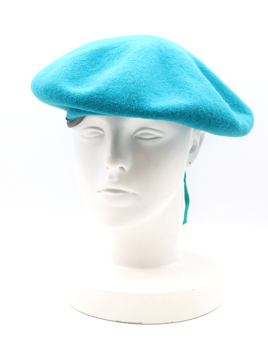 【中古】FACETASM×KIJIMA TAKAYUKI ファセッタズム×キジマタカユキ 18AW ベレー帽 ブルー メンズ
