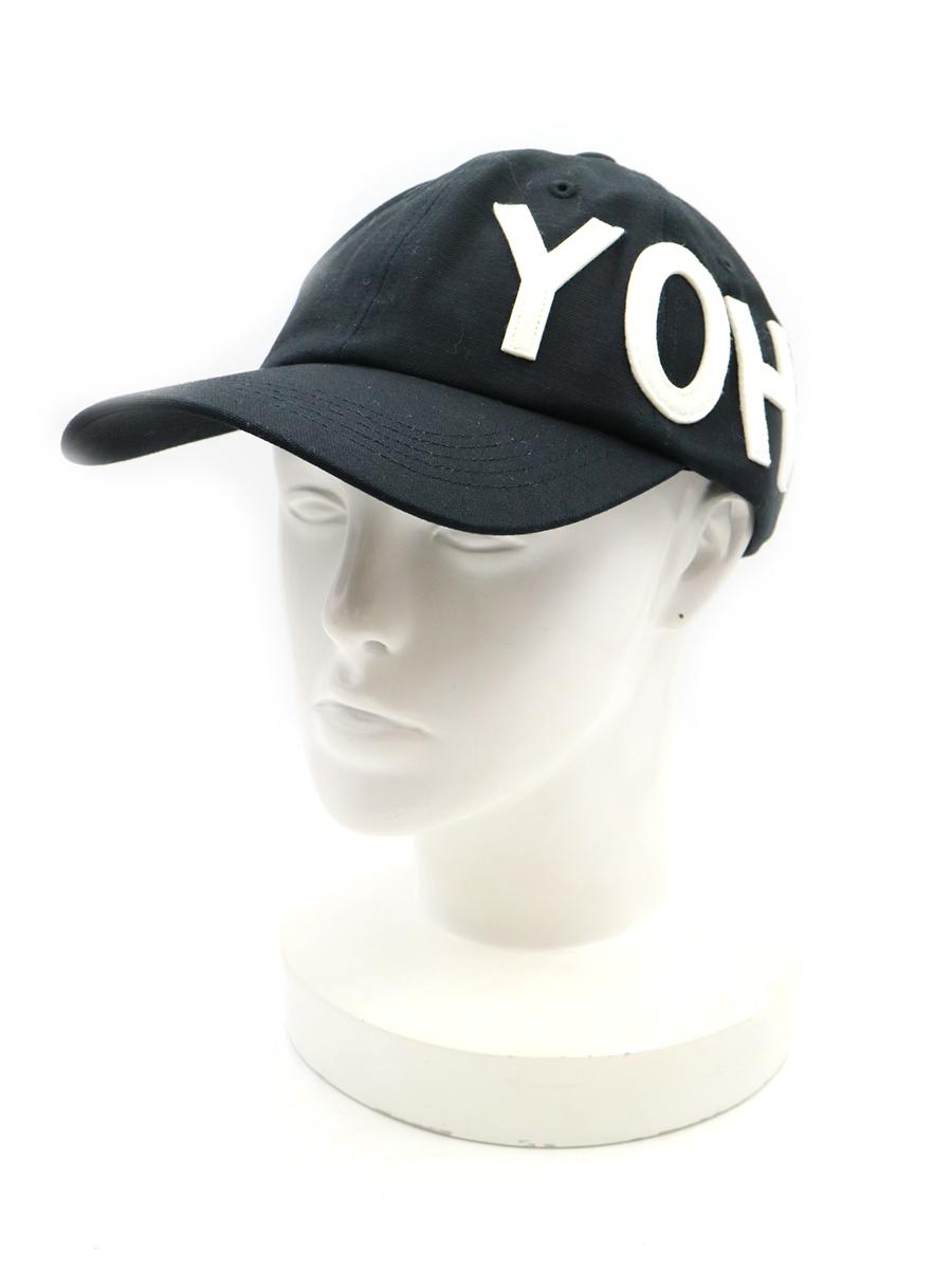 【中古】Y-3 ワイスリー 19AW YOHJI CAP ロゴワッペンキャップ ブラック メンズ