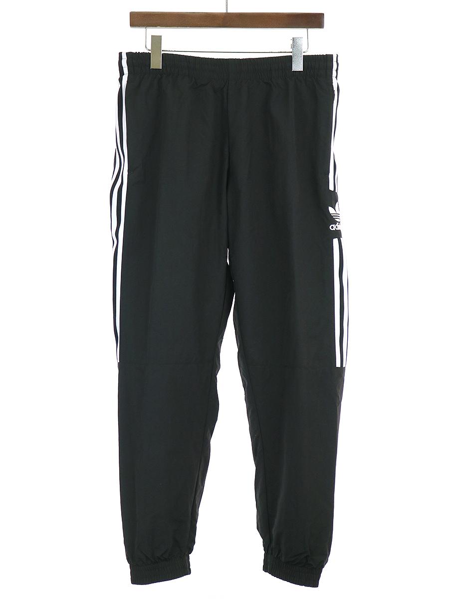 【中古】adidas Originals アディダス オリジナルス 19AW LOCK UP TRACK PANTS トラックパンツ ブラック XL メンズ