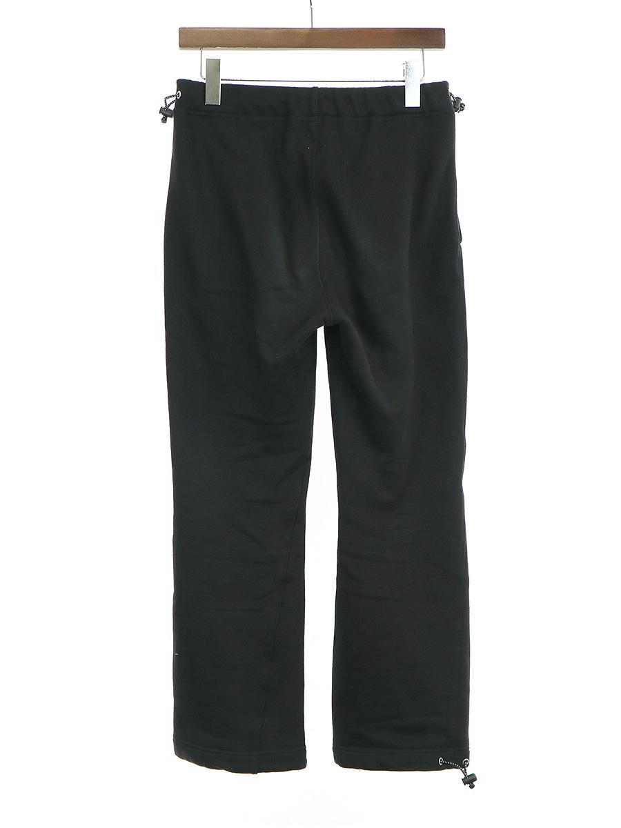 【中古】KAIKO カイコ 19SS SWEAT TRAINING PANTS トレーニングスウェットパンツ ブラック 2 メンズ